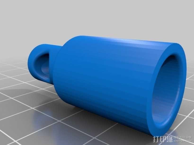 Printrbot Simple  Metal 打印机的送料系统 3D模型  图4