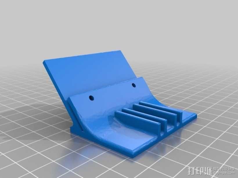 LED灯支架 3D模型  图1