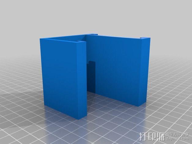 直径51毫米的线轴支架 3D模型  图2