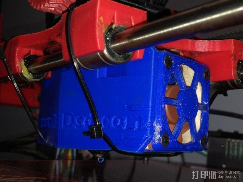 风扇支架 风扇罩 3D模型  图1