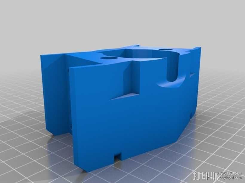 风扇支架 风扇罩 3D模型  图2