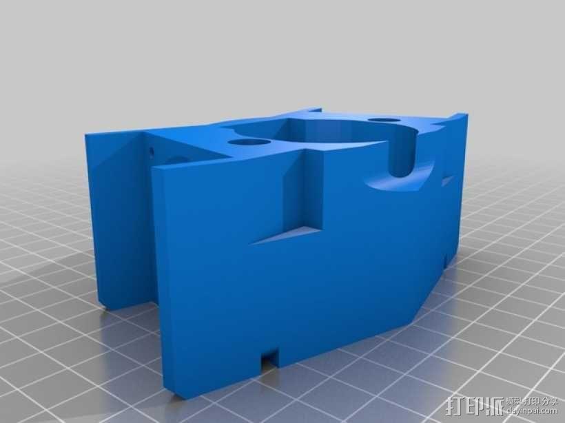 风扇支架 风扇罩 3D模型  图3