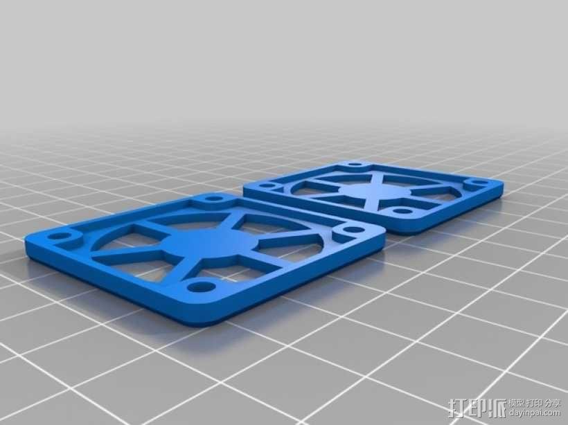 风扇支架 风扇罩 3D模型  图4