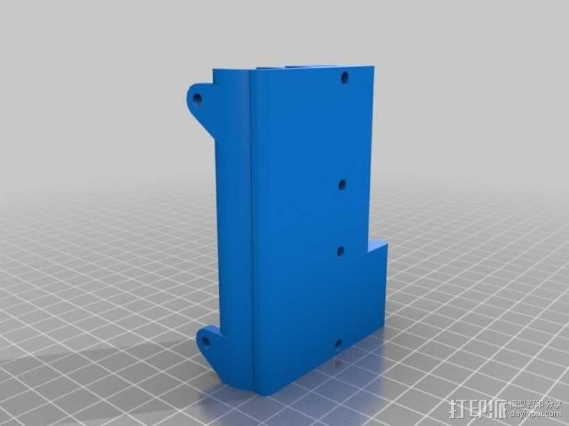E3D/J-Head喷头支架 3D模型  图4