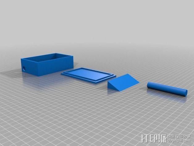Feeder Tweeter标志 3D模型  图3