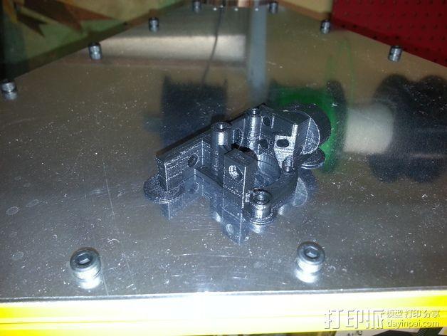 Bowden 挤出机扳机夹 3D模型  图6