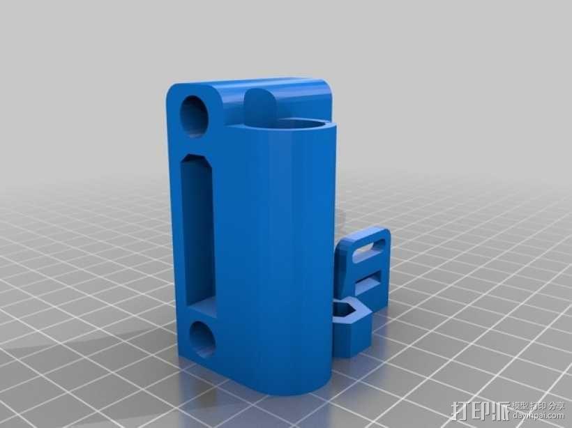 打印机X轴的惰轮 3D模型  图1
