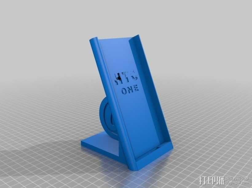 HTC-One_M8手机套 3D模型  图1
