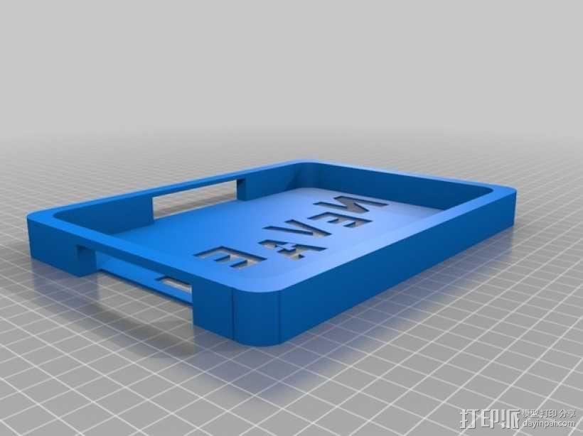 电子阅读器保护套 3D模型  图1