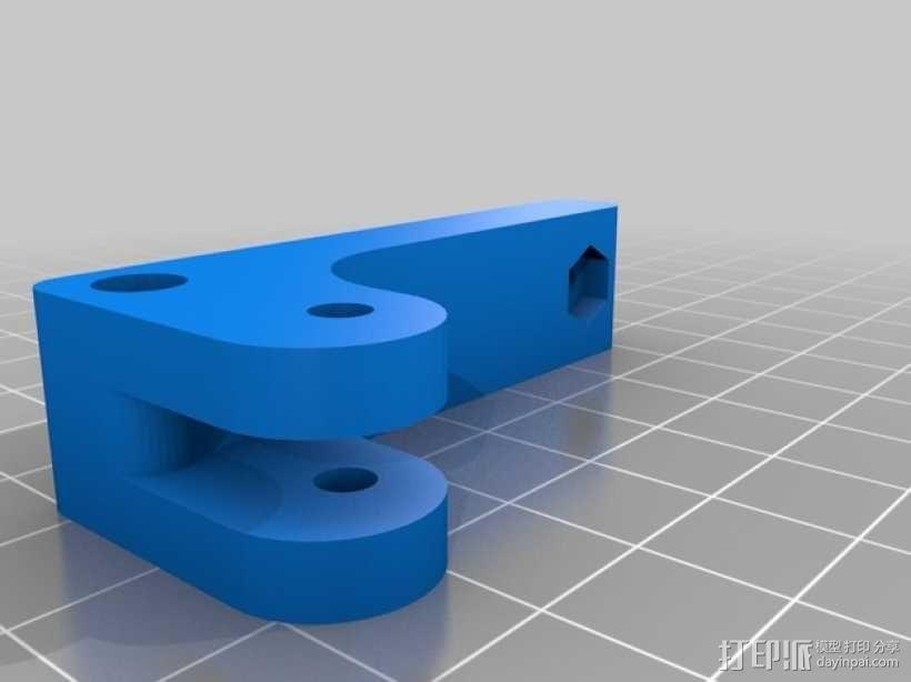 bowden 挤出机 3D模型  图2