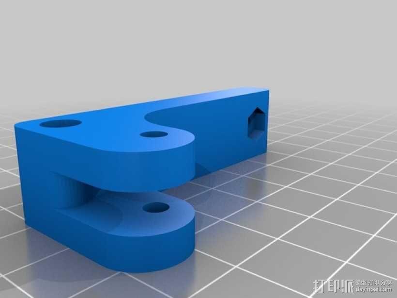 bowden 挤出机 3D模型  图4