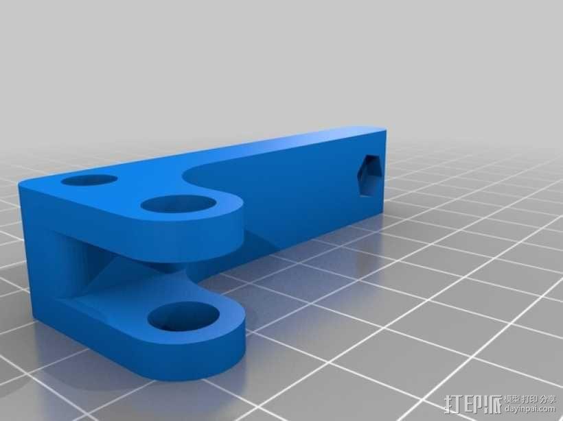 bowden 挤出机 3D模型  图12