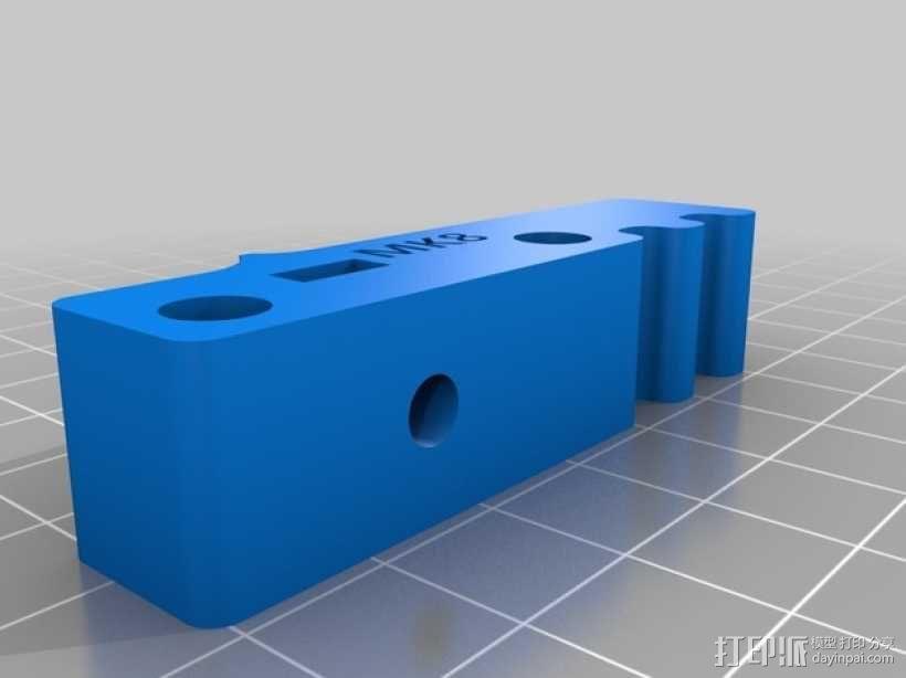 bowden 挤出机 3D模型  图11