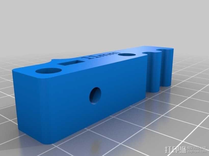 bowden 挤出机 3D模型  图15