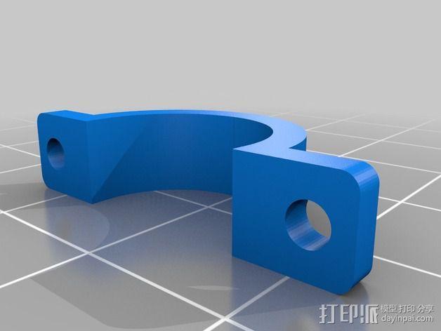 线夹  电缆夹 3D模型  图3