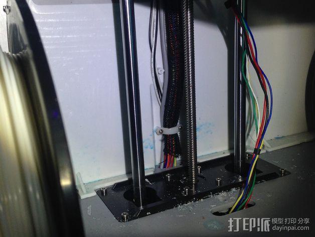 线夹  电缆夹 3D模型  图8