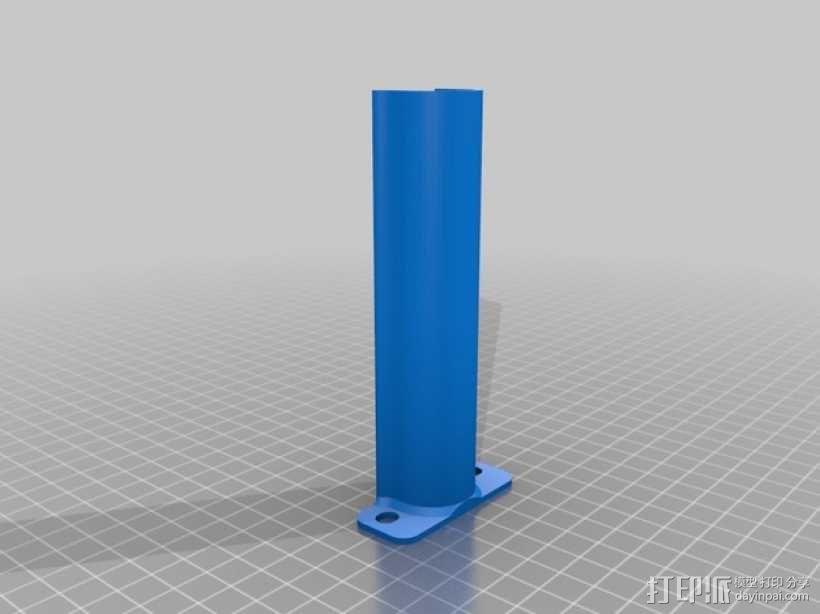 Creatr打印机轴杆套管 3D模型  图1