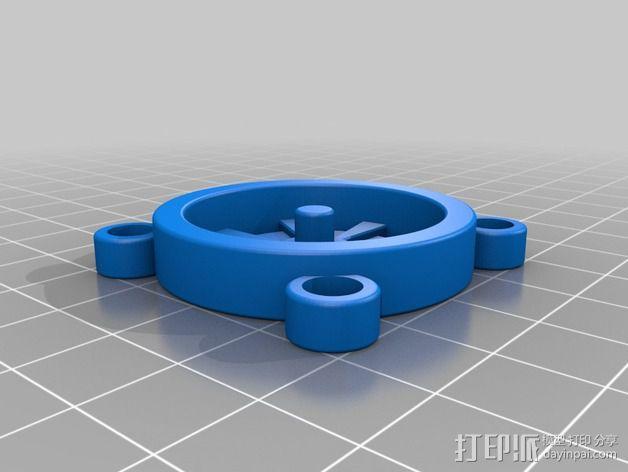 风扇保护罩 3D模型  图2