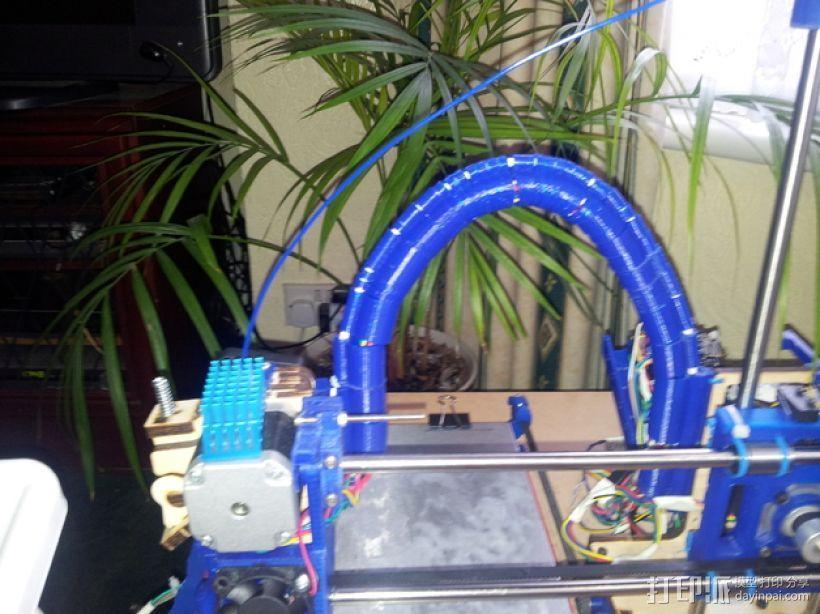导线器装置 3D模型  图1