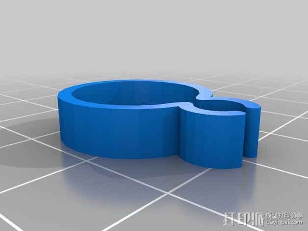 导线器装置 3D模型  图3
