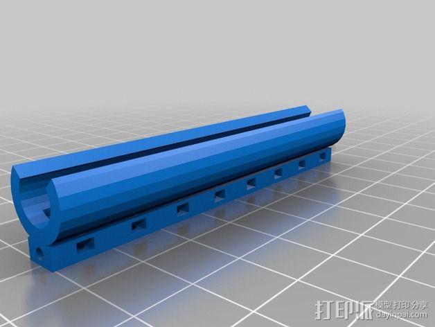 导线器装置 3D模型  图2