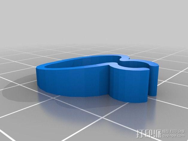 导线器装置 3D模型  图4