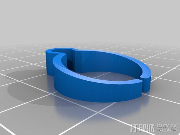 导线器装置 3D模型  图7