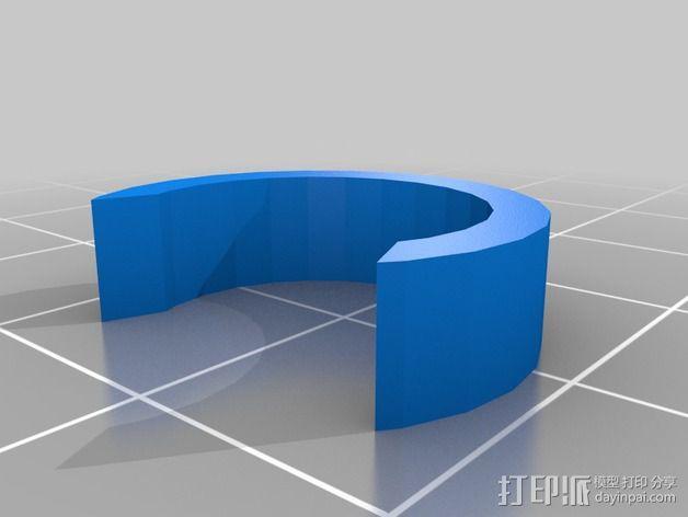 导线器装置 3D模型  图6