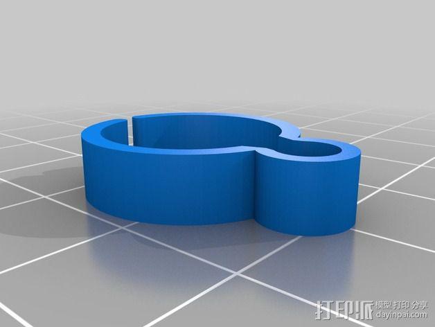导线器装置 3D模型  图8
