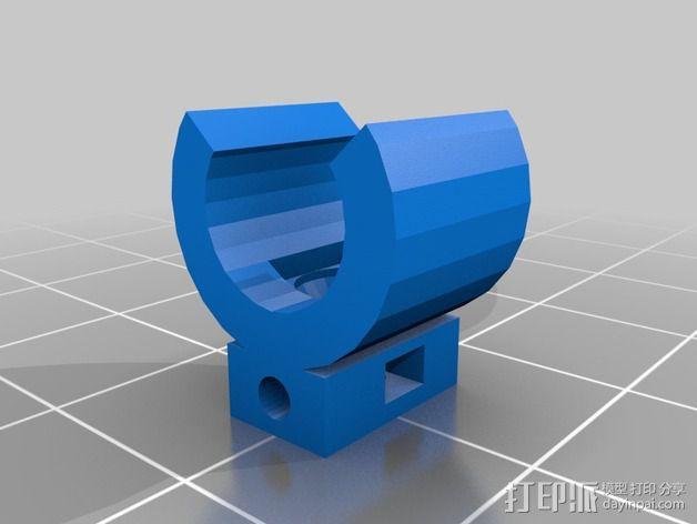 导线器装置 3D模型  图11