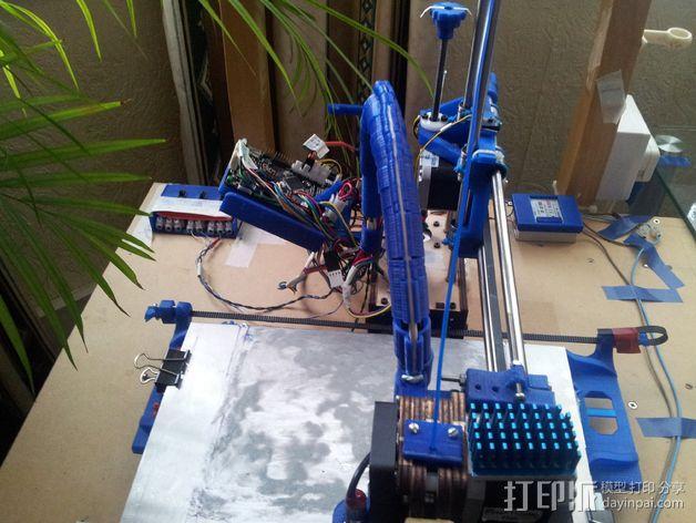 导线器装置 3D模型  图14
