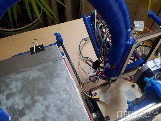 导线器装置 3D模型  图22
