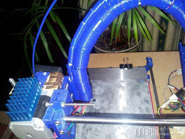 导线器装置 3D模型  图21