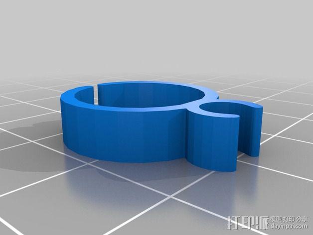 导线器装置 3D模型  图25