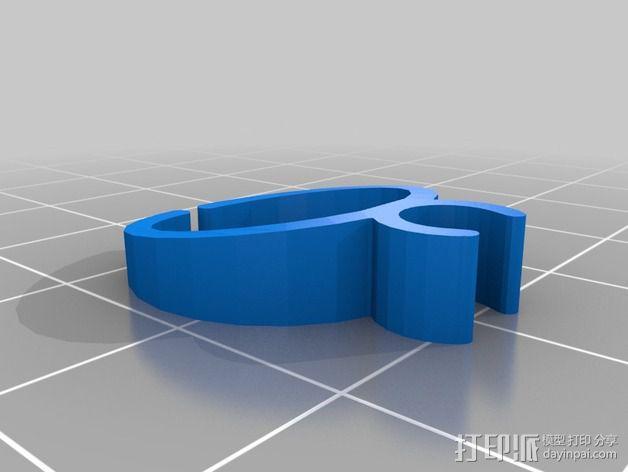 导线器装置 3D模型  图26