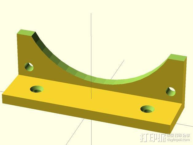 风扇支架 3D模型  图4