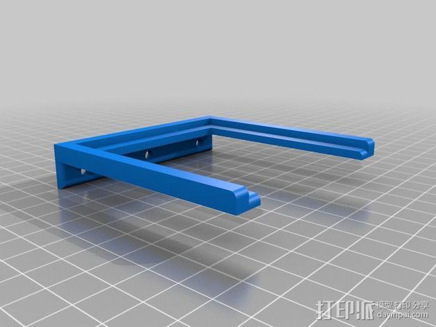 Uncia DLP 3D 打印机的配件 3D模型  图2