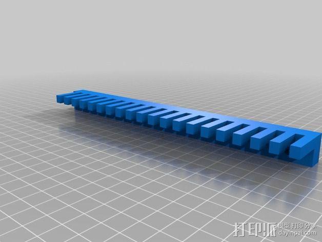 Uncia DLP 3D 打印机的配件 3D模型  图3