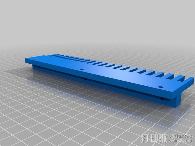 Uncia DLP 3D 打印机的配件 3D模型  图5