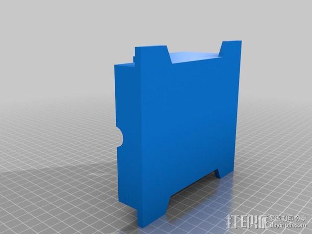 通用式料斗槽 3D模型  图2