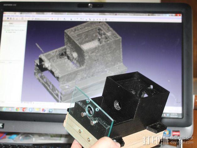 通用式料斗槽 3D模型  图7