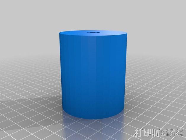 线性轴承 3D模型  图2