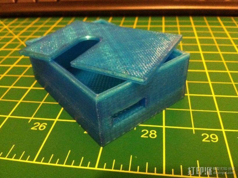 变速器外盒 调速器外盒 3D模型  图2