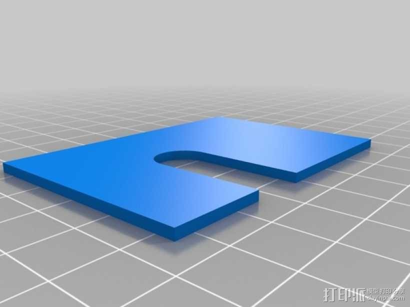 变速器外盒 调速器外盒 3D模型  图4