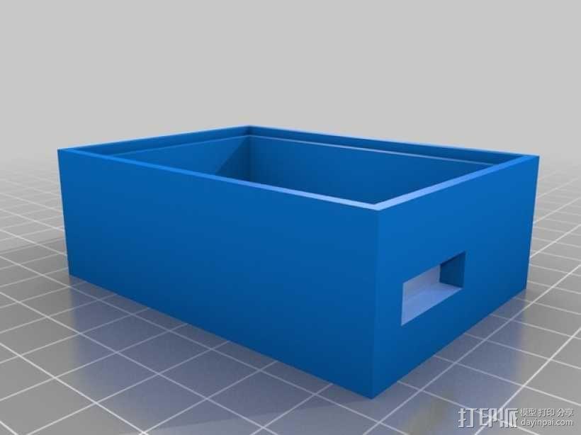 变速器外盒 调速器外盒 3D模型  图5