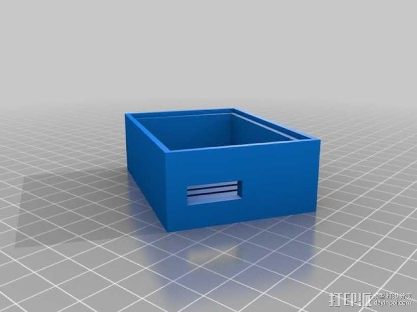 变速器外盒 调速器外盒 3D模型  图7