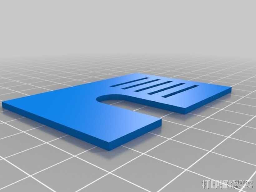 变速器外盒 调速器外盒 3D模型  图6