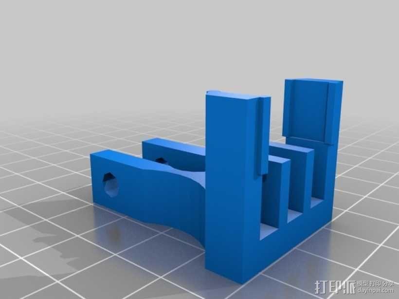 打印机Z轴的限位开关 3D模型  图1