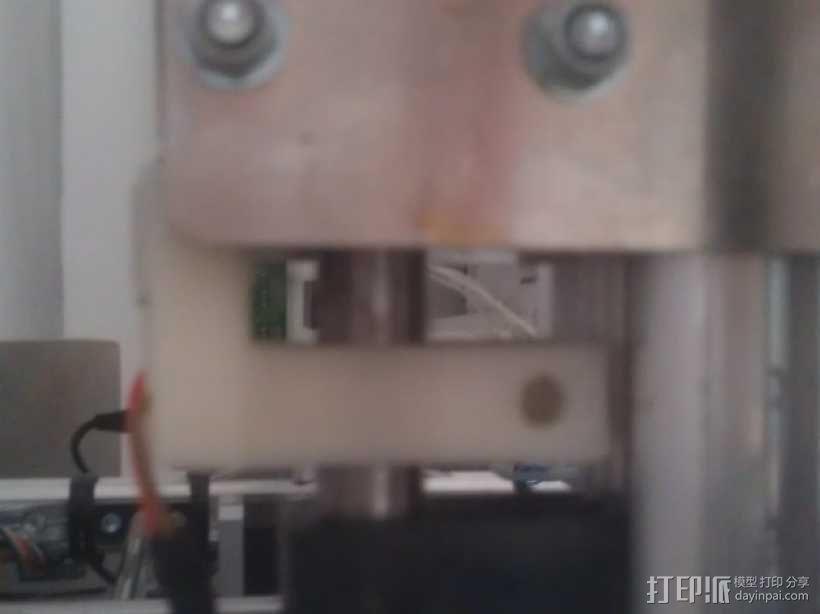 打印机Z轴的限位开关 3D模型  图2