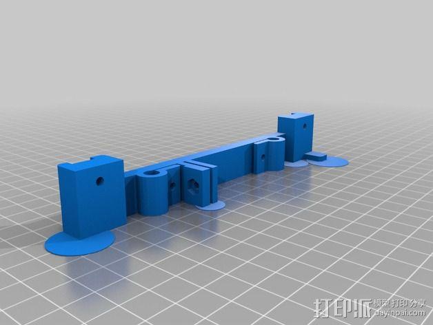 PRN3D打印机Y轴的部件 3D模型  图3